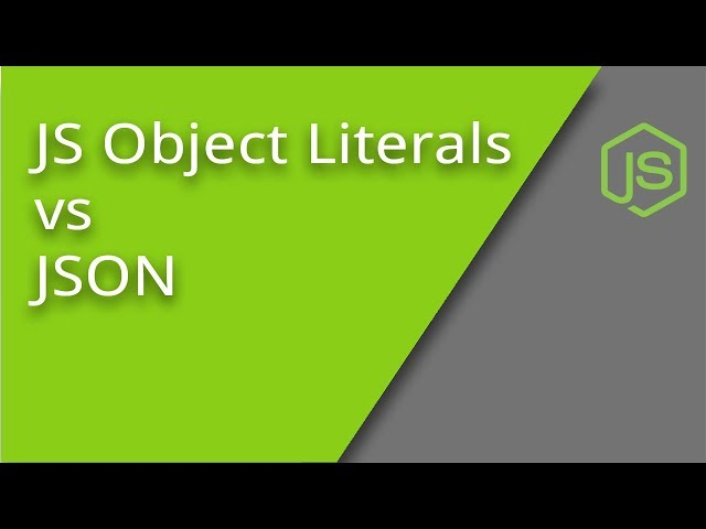 JSON vs JavaScript Object Literals