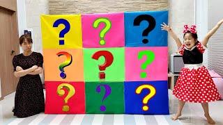 상자속에는 무엇이 들어있을까요? 서은이와 엄마의 물음표 상자 엘오엘 서프라이즈 Question Mark Box Contest Seoeun VS Mom