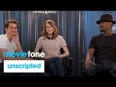'The Amazing Spider-Man 2' | Unscripted | Andrew Garfield, Emma Stone, Jamie Foxx