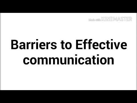 Barriers Of Communication In English And Hindi See Description Link Also