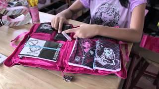 Unboxing of Monster High, Soft Secret Diary screenshot 1