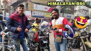MODIFICATIONS on royal enfield HIMALAYAN BS6 !!