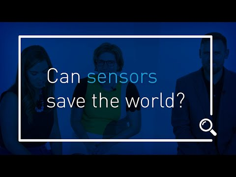 Talk Techy to Me: Can sensors save the world?