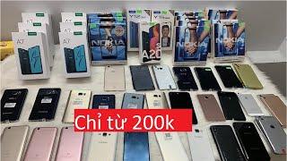 Số 37: CHẤP MỌI ĐỐI THỦ thanh lý điện thoại giá Cực Rẻ Nokia 6.1 Plus, Samsung A50, A20s, Oppo A7