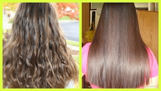 Best Home Remedy to get Naturally Straight Hair || Get Silky & Smooth Hair Naturally at Home