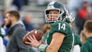 Spartan QB Brian Lewerke Talks Spring Game & Expectations | Michigan State | B1G Football