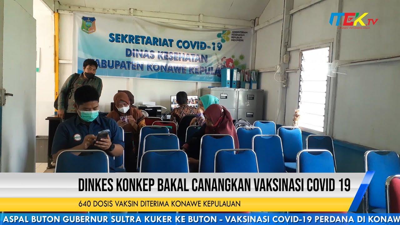640 Dosis Vaksin Diterima Konawe Kepulauan