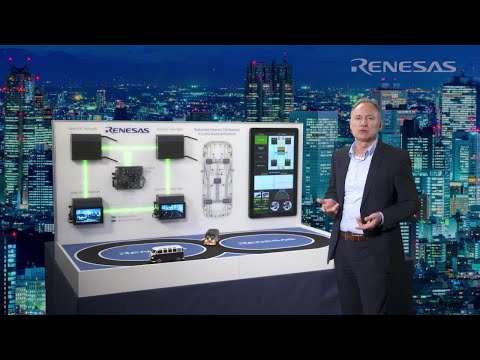 Renesas IVN demonstrator for Time Sensitive Networking with seamless redundancy