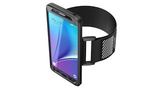 Soft silicone skin Sport Running Armband for Samsung Galaxy Note 5