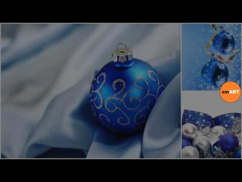 Blue Christmas Ornaments - Blue Christmas Ball Ornaments