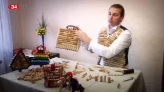 В Днепродзержинске из винных пробок создают одежду, украшения и сувениры