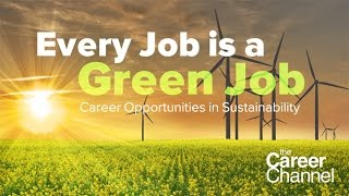 Career Opportunities in Sustainability