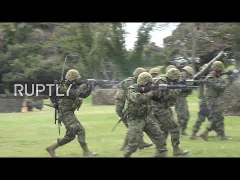 Japan: Japan showcases first elite marines unit since WWII