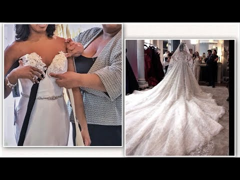 Finding The Perfect Wedding Dress| FAILS!!!! | Dress Try On Vlog Mp3