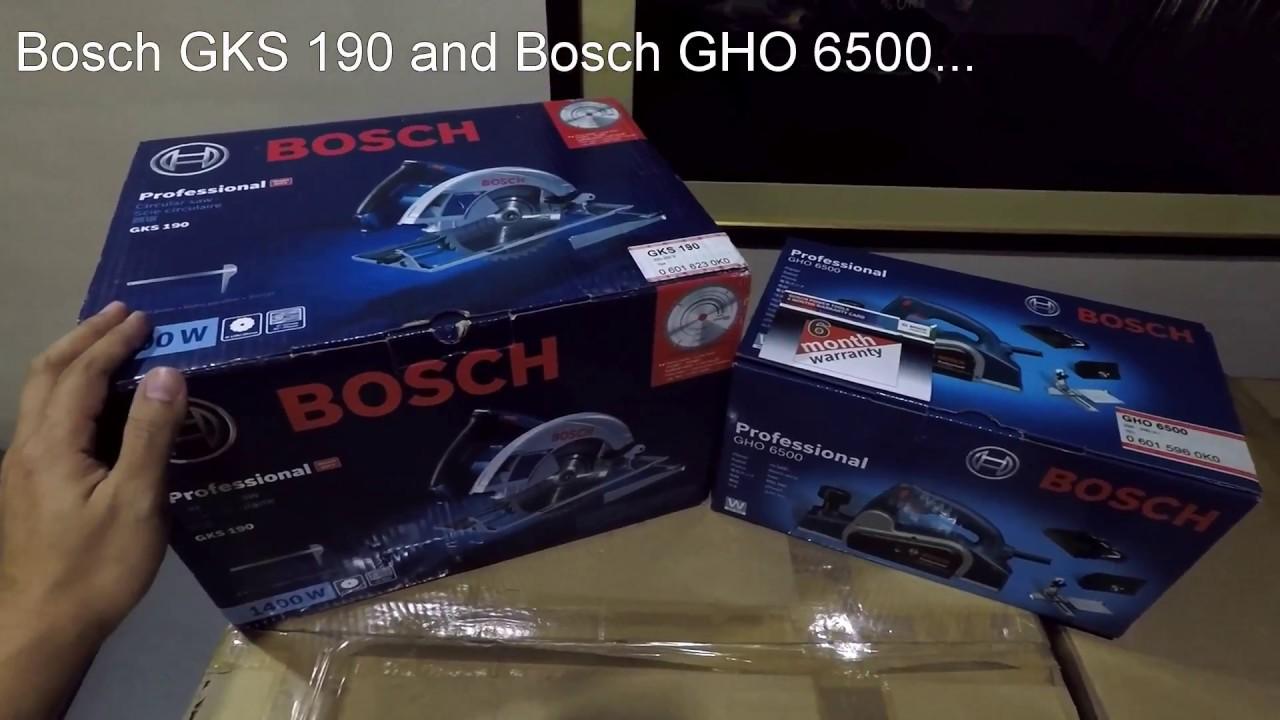 Bosch Hand-held Circular Saw - GKS 190 Professional - YouTube