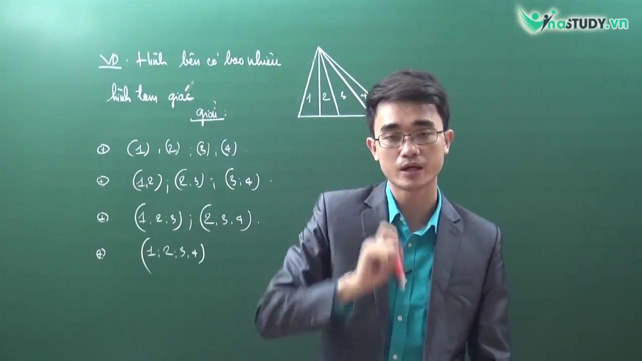 [Toán lớp 1] – Đếm hình , đếm đoạn thẳng – thầy Nguyễn Thành Long