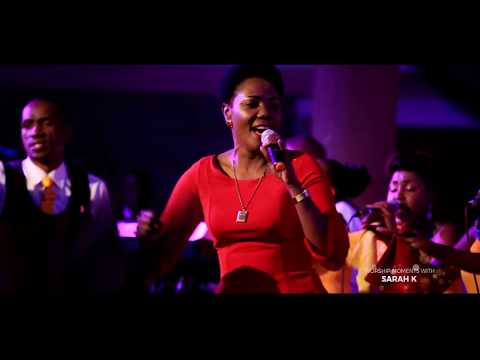 Sarah K  & Shachah team.  Halleluyah - live (Official Video)