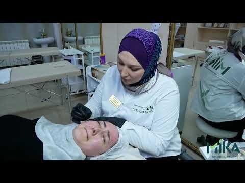 """Процесс обучения по курсу """"Косметологическая хиджама"""""""