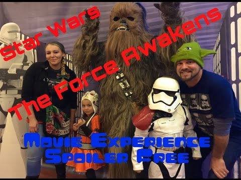 Star Wars The Force Awakens, Family Movie Experience at Celebration Cinema North, Spoiler Free