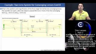 OAT: finding position and size of two lens system (converging and diverging lens)