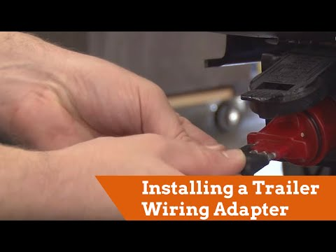 How to Install a Trailer Wiring Adapter - YouTube Uhaul Trailer Wiring Harness Diagram on ford f-150 trailer wiring diagram, round 4 pin trailer wiring diagram, 7-way trailer plug wiring diagram, uhaul trailer plug wiring diagram, trailer coupler parts diagram, uhaul trailer hitch wiring diagram,