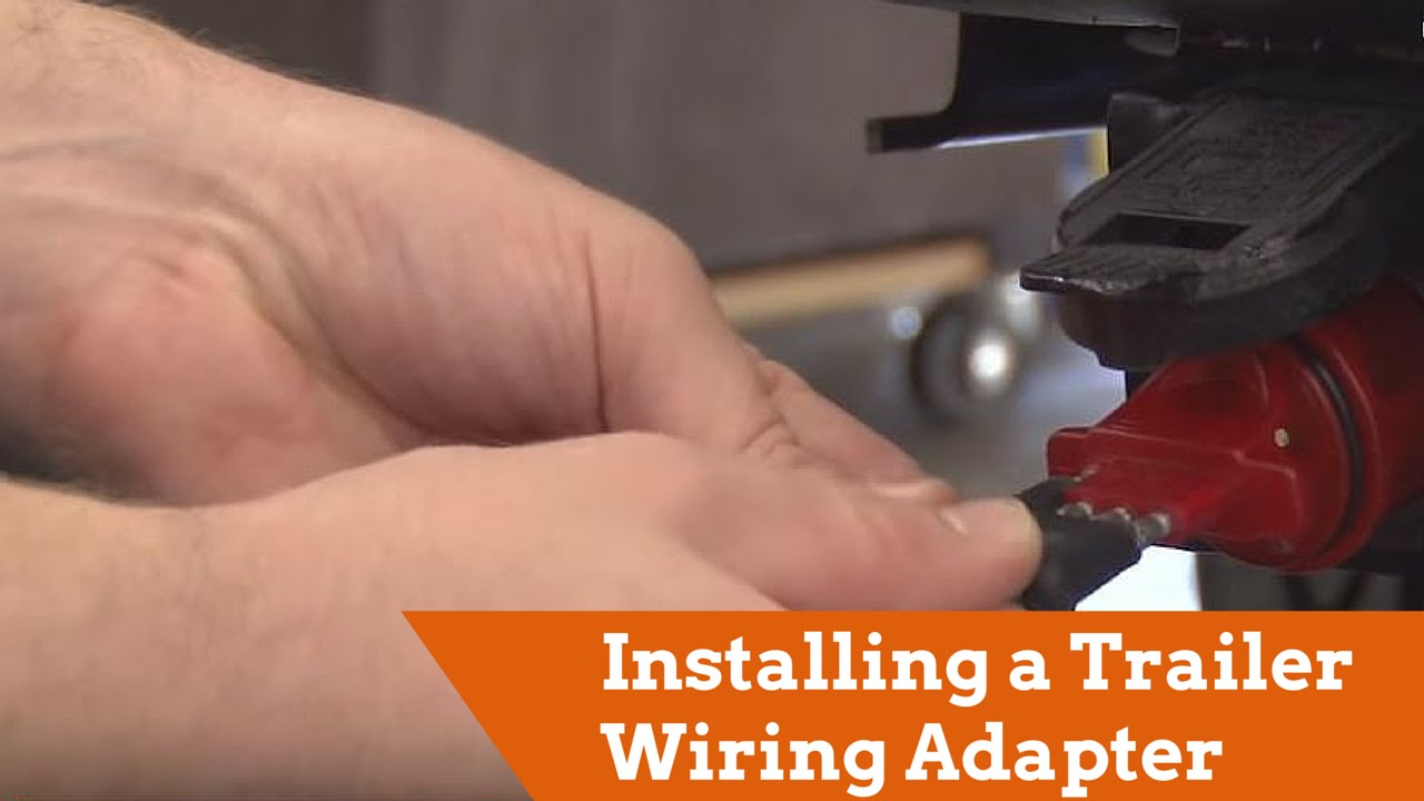 How to Install a Trailer Wiring Adapter YouTube
