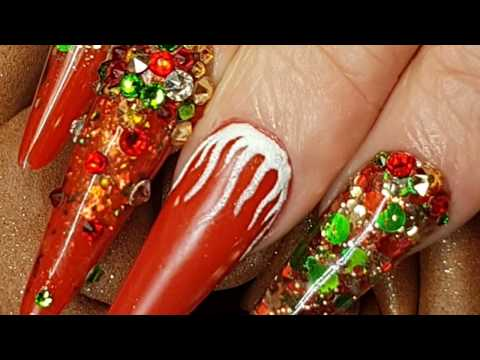 My Nails - Acrylic Salon Sculpted Nails - Russian Almond