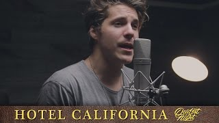 "Purchase our version of ""hotel california"" here: https://itunes.apple.com/us/album/hotel-california-single/id1128236172 stream it on spotify https://op..."