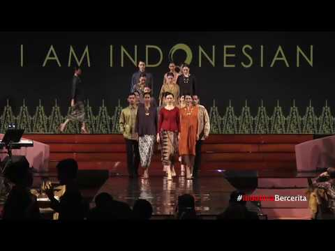 "Oscar Lawalata fashion show  ""Im Indonesian"" Beyond Wealth event"