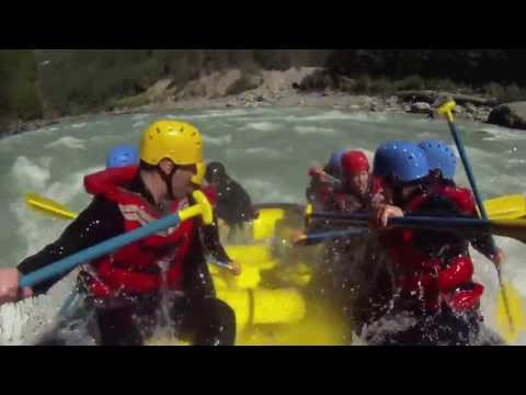 Canadian Outback Adventures & Events White Water Rafting Trips