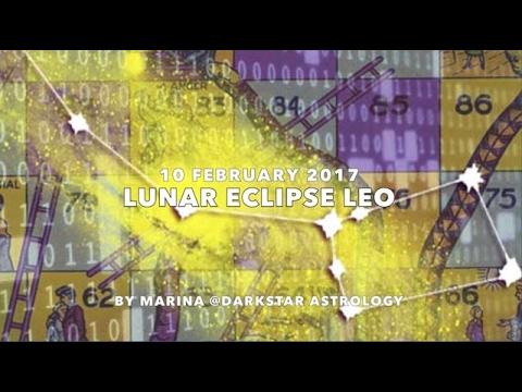 Lunar Eclipse Leo February 2017 ~ Star Dust By Marina