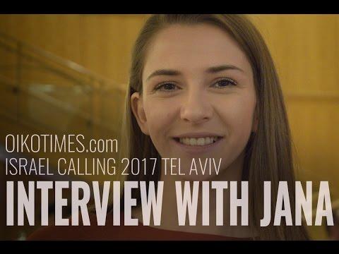 oikotimes.com: interview with Jana Burčeska (FYR Macedonia 2017) Israel Calling 2017