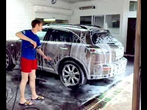 Как моют машины