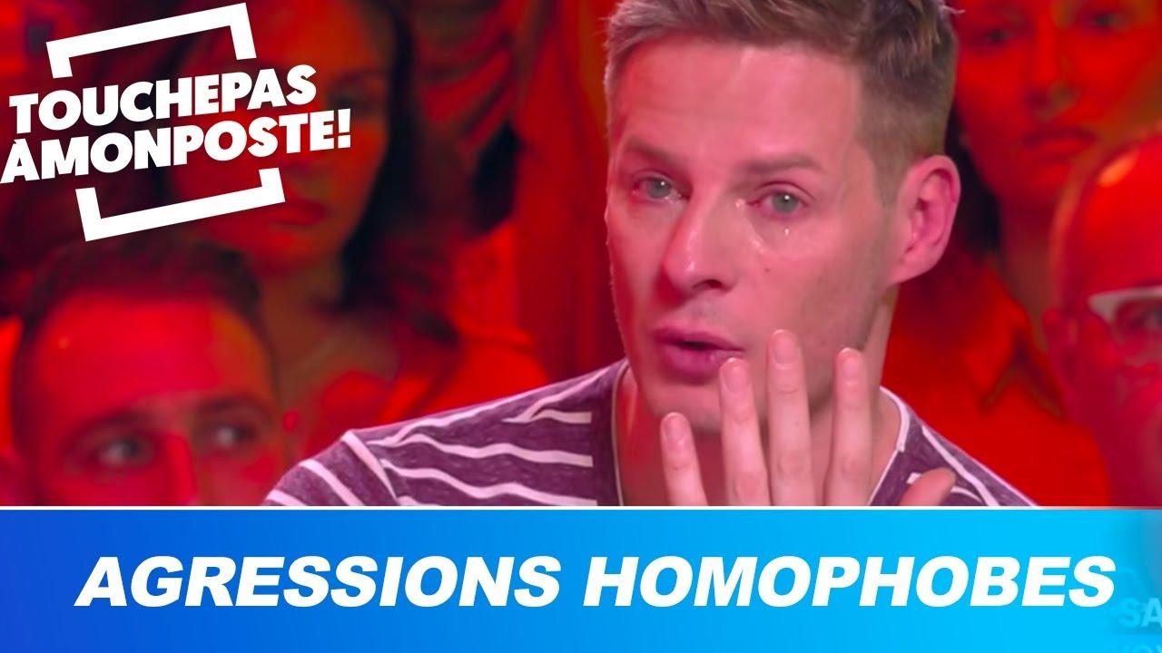 Agressions homophobes : Matthieu Delormeau en larmes, il craque en direct !