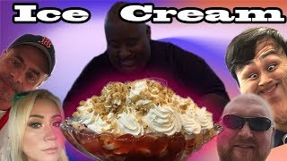 HUGE ICE CREAM CHALLENGE FT MIKI SUDO BADLANDS CHUGS GEOFF ESPER GEORGE CHIGER