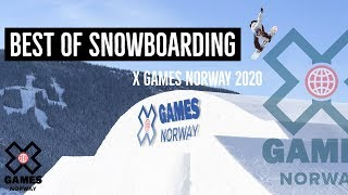 BEST OF SNOWBOARDING | X Games Norway 2020
