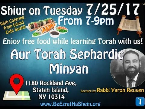 Who Will Be Happy When MaShiach Arrives? (Aur Torah New York)