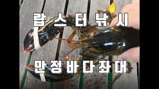 랍스터낚시  만정바다좌대 Lobster fishing