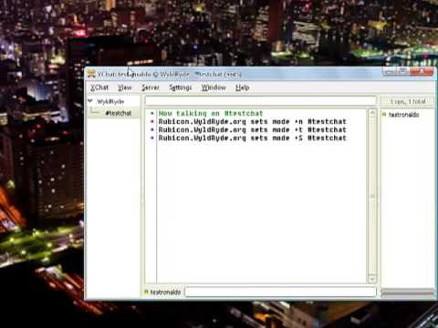 how to make your own irc chat client p1