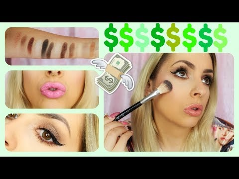 TESTING OUT $500 WORTH OF MAKEUP!!!