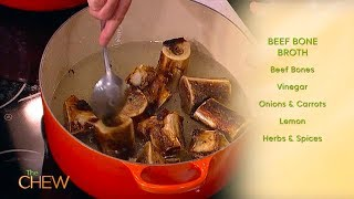 How to Make Beef Bone Broth | The Chew