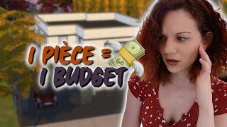 1 pièce = 1 budget 💸 || CHALLENGE SIMS 4