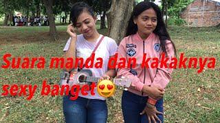 Suci dalam debu duo pengamen cantik asal Jakarta asli mantul!!!