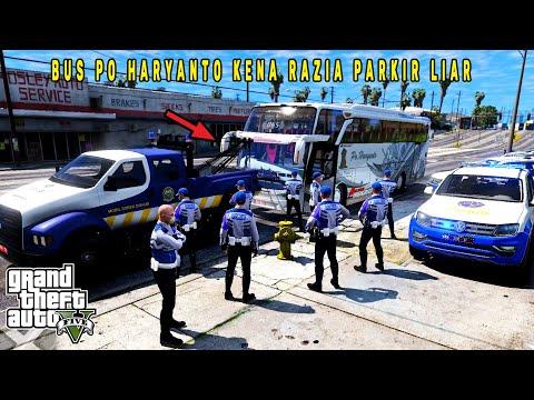 Razia Dishub Derek Paksa Parkir Liar Malah Rusuh! GTA 5 Mod Indonesia
