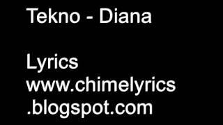 Tekno - Diana Lyrics