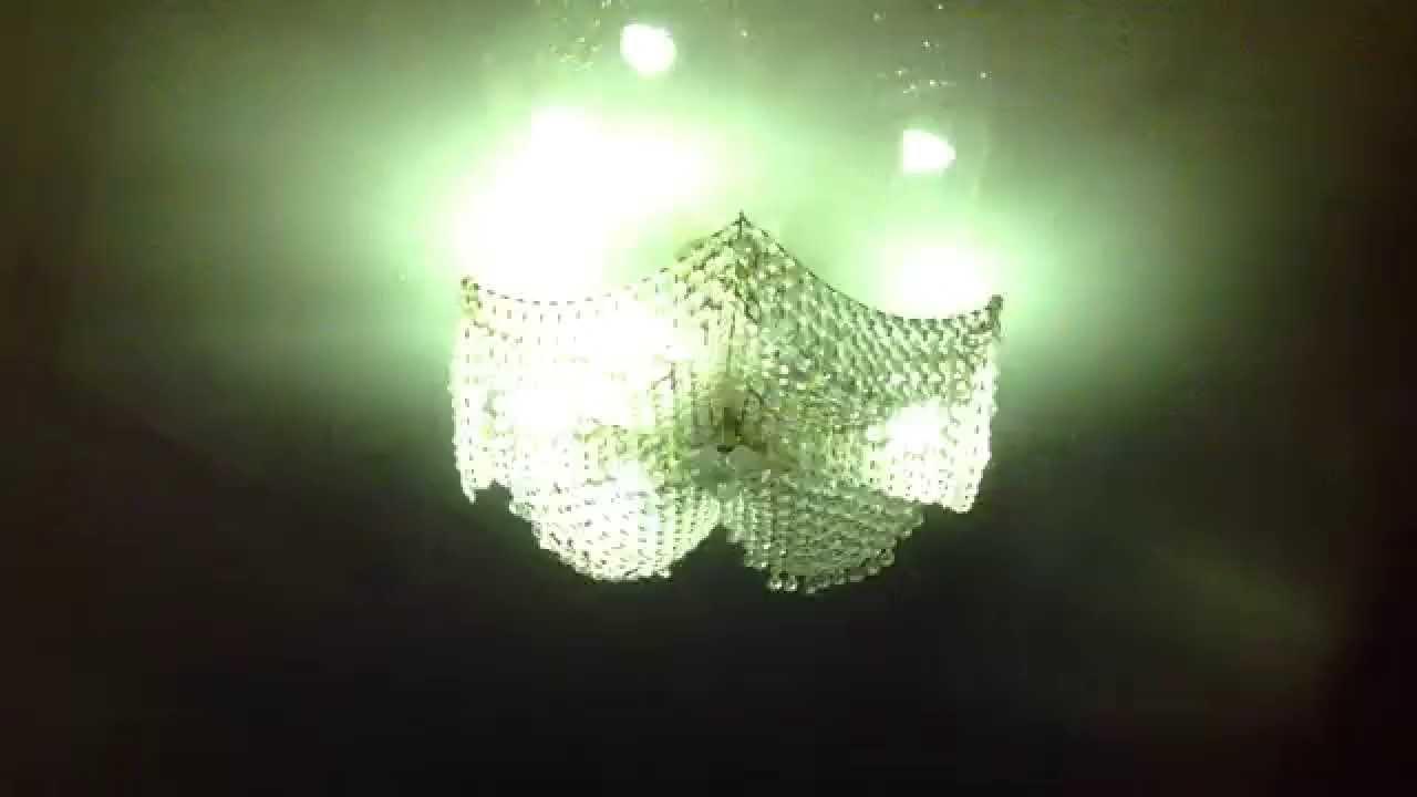 Мигает светодиодная лампа после выключения