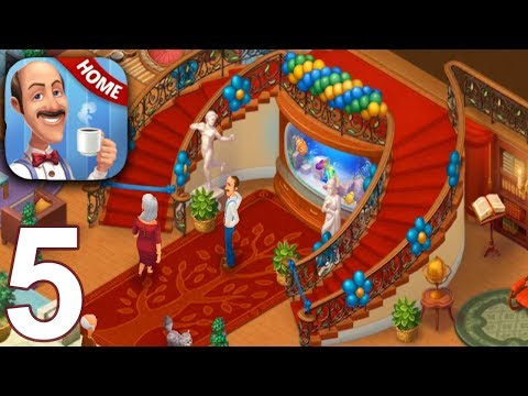 HOMESCAPES Story Walkthrough Gameplay Part 5 - Day 5 (iOS Android)