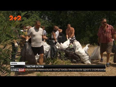 Столичні волонтери почистили