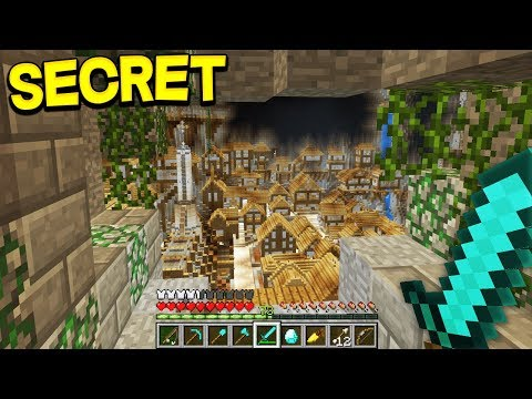 SECRET MINECRAFT CITY FOUND IN POCKET EDITION! (Real)