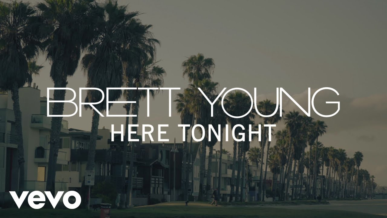 Brett Young - Here Tonight (Official Lyric Video) #1